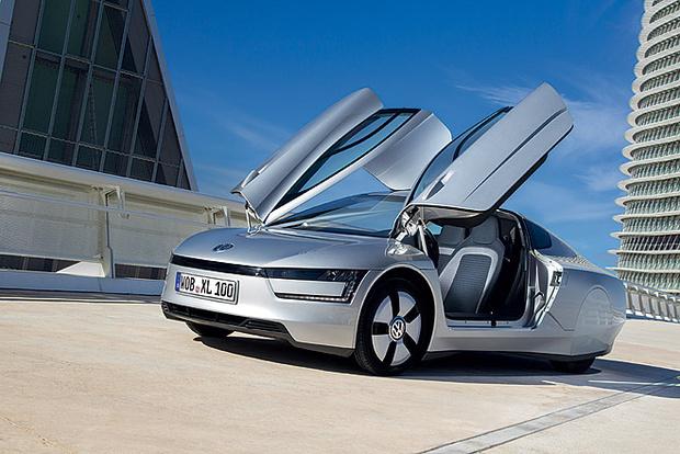 Фото №1 - Представлен Volkswagen, который расходует меньше литра бензина на 100 км