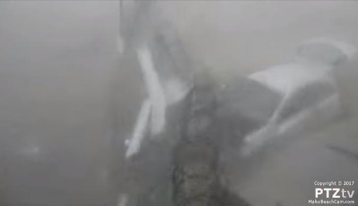 Фото №1 - Видео, доказывающее, что ураган «Ирма» — один из самых разрушительных ураганов в истории