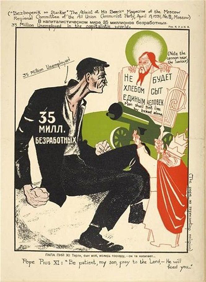Фото №14 - Советские антирелигиозные плакаты (галерея)