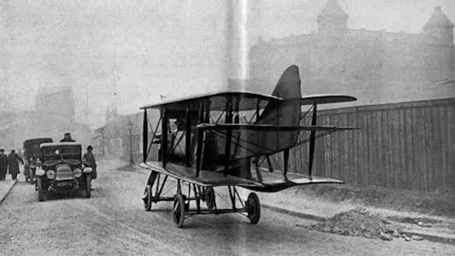 Французский Tampier Avion-Automobile (1921) построен в двух экземплярах