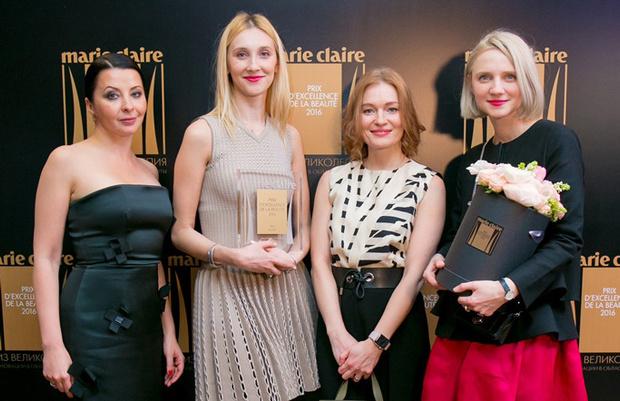 Фото №4 - Marie Claire вручил премию в области красоты Prix d'Excellence de la Beauté 2016