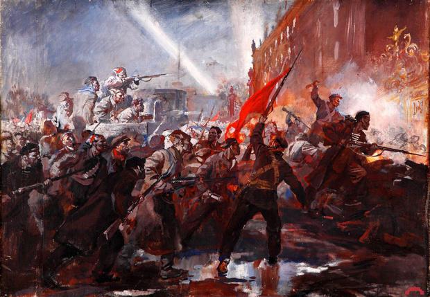 Фото №1 - Штурм Зимнего и другие советские мифы
