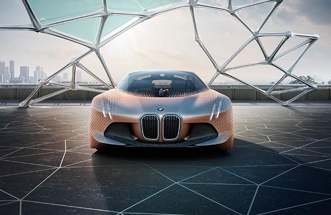 BMW Vision Next 100 спереди