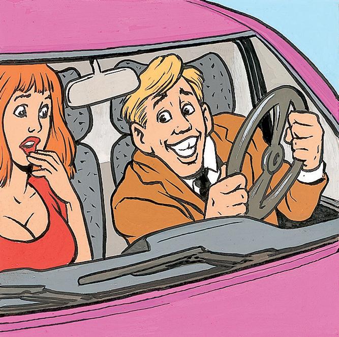 Фото №3 - Еще один нетривиальный способ знакомства: помощь с парковкой