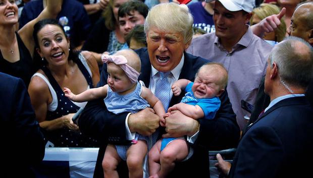 Фото №1 - Дональд Трамп собирается отменить гражданство по праву почвы в США