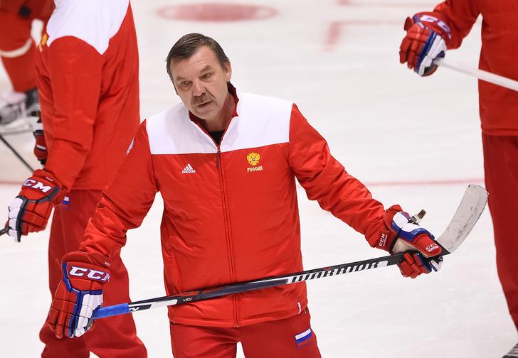 Фото №1 - Олег Знарок: «Словакам проиграли — ругаете. Словению победили — вы опять недовольны?»