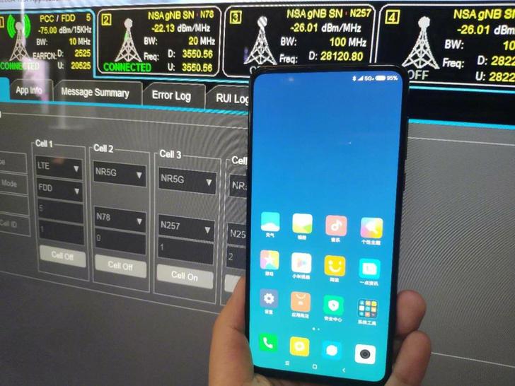Фото №1 - Выходит первый телефон для сетей 5G — Xiaomi Mi Mix 3