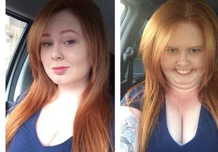 Страшно жуткий флешмоб: симпатичные девушки корчат уродливые рожи!