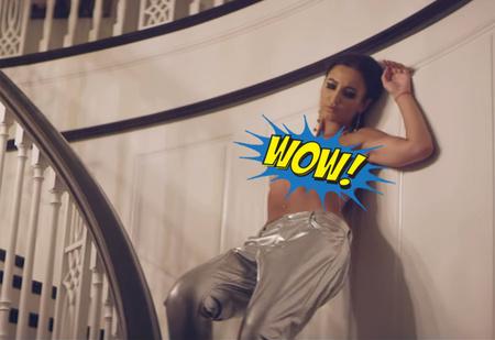 Бузова обнажилась в своем новом клипе