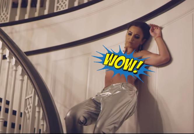 бузова обнажилась своем новом клипе
