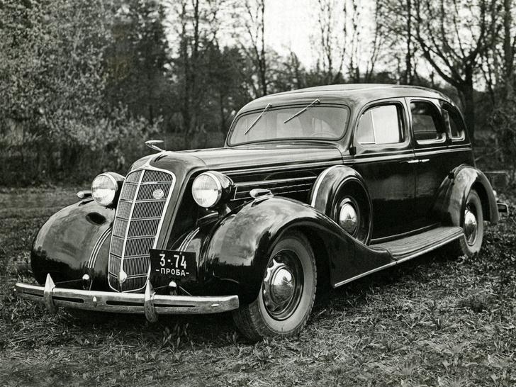 Фото №2 - 5 самых роскошных советских автомобилей