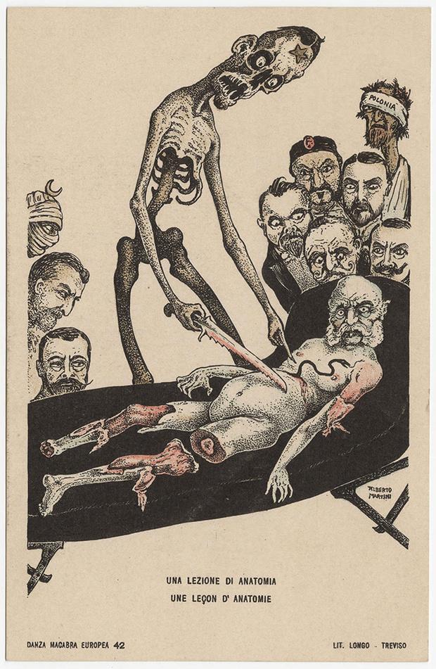 Фото №24 - Жутковатые карикатуры Первой мировой