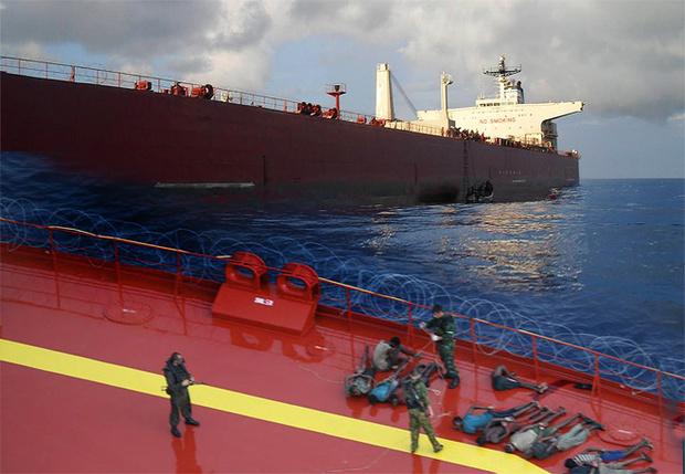 Освобождение танкера Московский университет