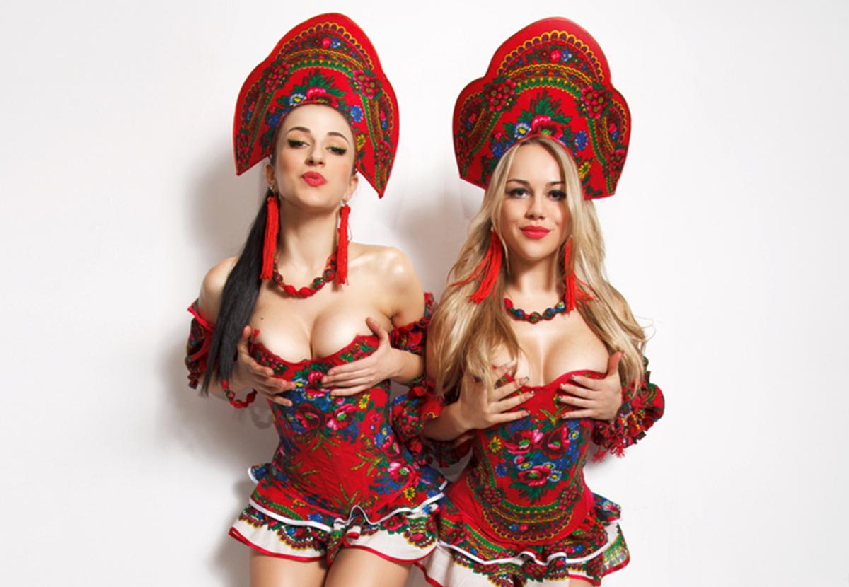 Russian sexy costume
