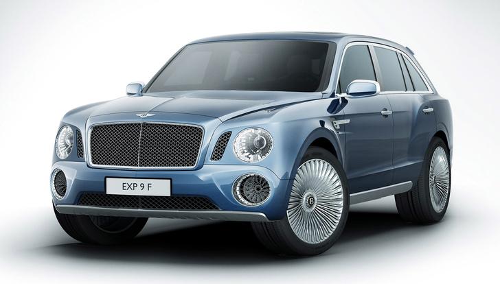 Фото №1 - Автомобиль месяца: Bentley EXP 9 F. Верх комфорта, роскоши, интеллекта и цинизма