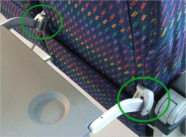 Как заблокировать переднее кресло