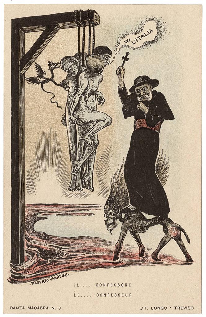 Фото №42 - Жутковатые карикатуры Первой мировой