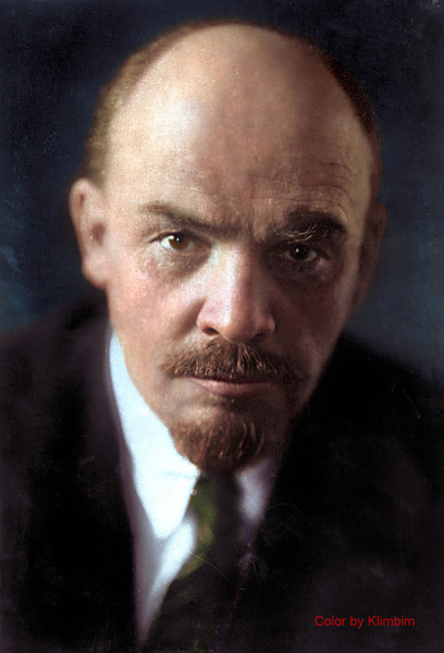 Фото №3 - Отретушированные Николай II, Маяковский, Ленин и другие твои старые знакомые. Такими ты их никогда не видел