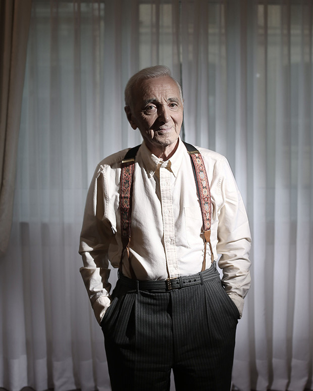 Фото №2 - Шарль Азнавур: «Я всем говорю правду. Могу себе позволить — в моем-то возрасте»