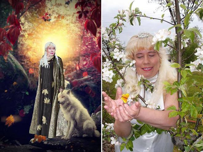 Фото №7 - Богиня Фотошопа: женщина поразила пользователей Facebook  своими фотографиями