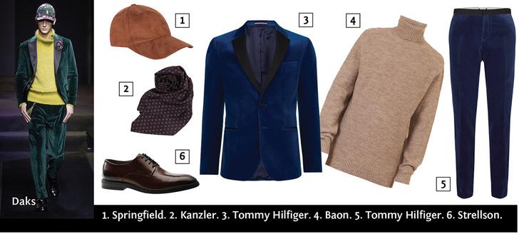 Фото №4 - Бархатный пиджак: как и с чем носить