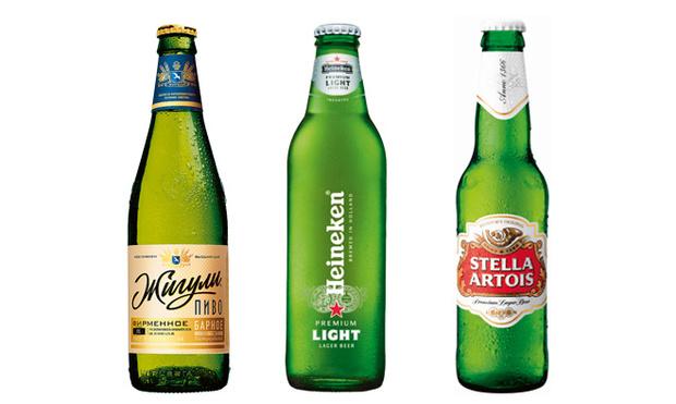 «Жигули», Heineken, Stella Artois