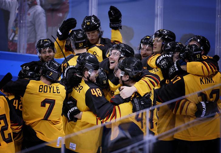 Фото №1 - Главная сенсация Олимпиады в хоккее: 5 причин, почему в финал вышли немцы