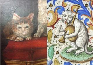 Уморительно уродливые коты Средневековья!