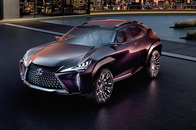 Фото №1 - Лексус «Икс»: Lexus показал концепт нового кроссовера