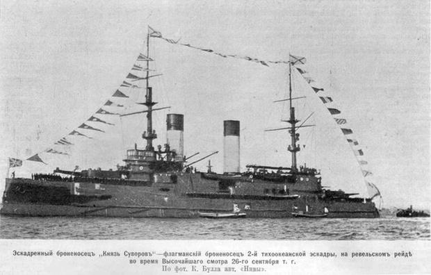 Эскадренный броненосец «Князь Суворов»