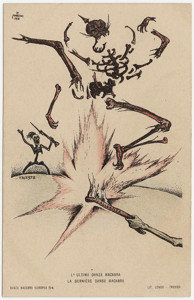 Фото №43 - Жутковатые карикатуры Первой мировой