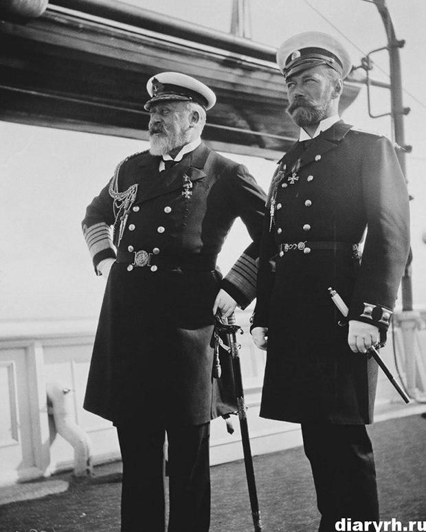 Николай II и Эдуард VII