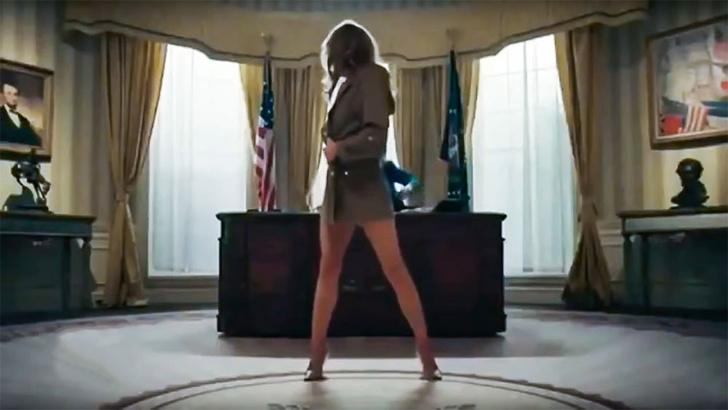 Фото №1 - Рэпер снял политический клип с Дональдом Трампом и стриптизершей, очень похожей на Меланью Трамп