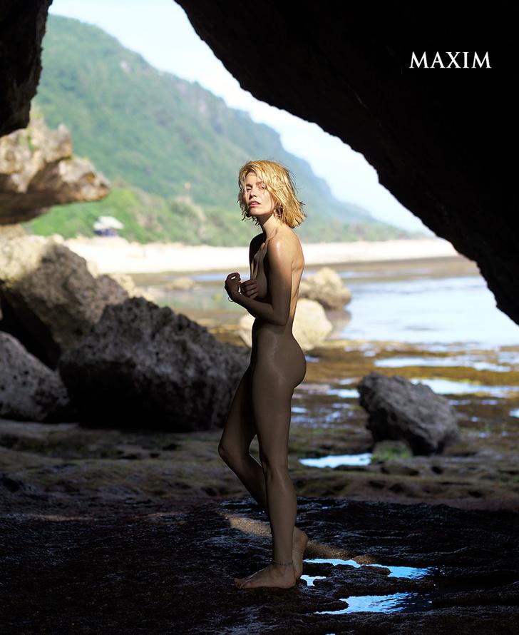 Фото №7 - Как на вулкане! Актриса Елена Чернявская в фотосессии MAXIM