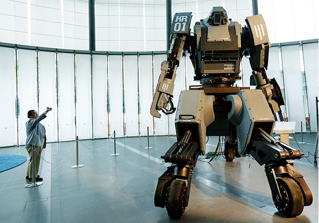 Kuratas — японский  боевой робот