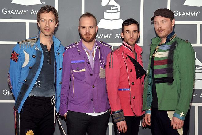 Группа Coldplay на 51-ой церемонии вручения премии Грэмми