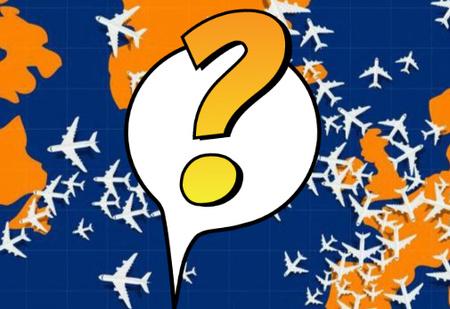 Тест на зоркость (и упорство): найди самолет, который летит не в ту сторону!