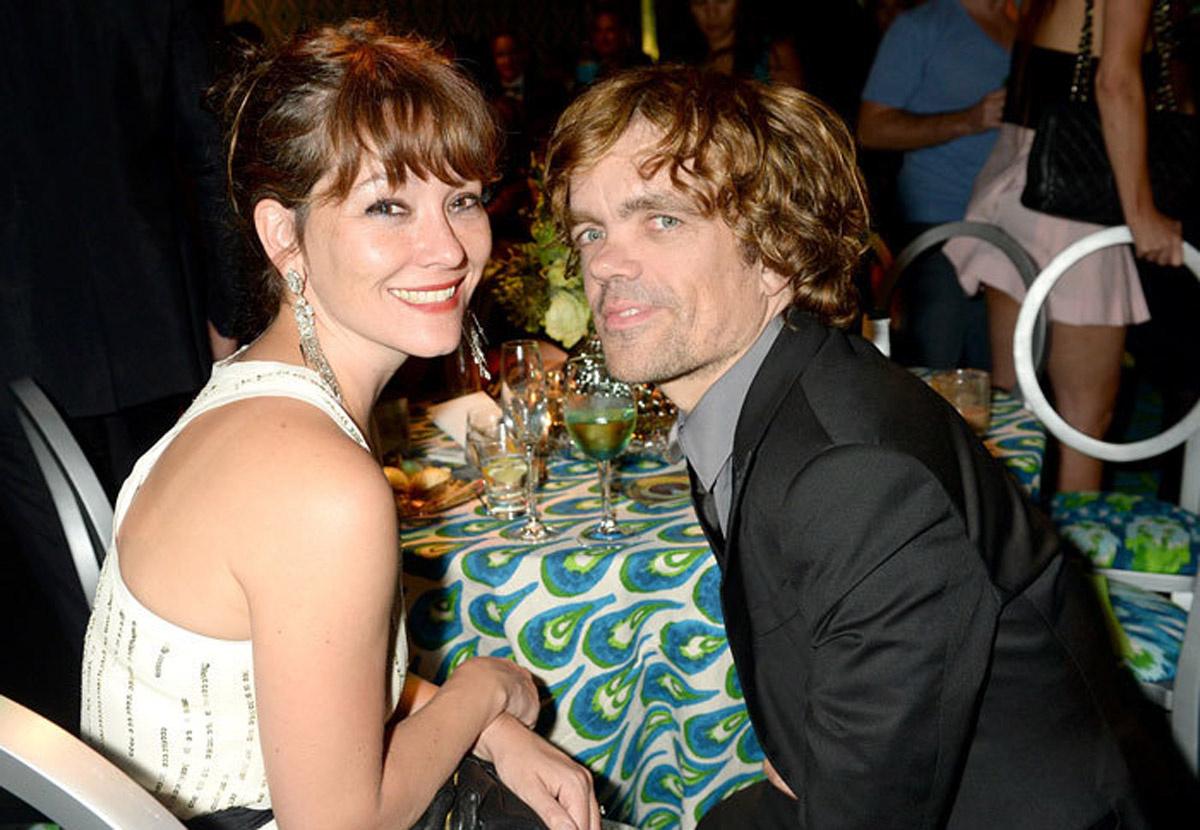 Питер Динклейдж (Тирион Ланнистер) и его жена актриса Эрика Шмидт