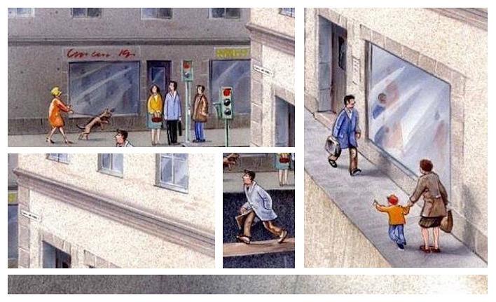Фото №1 - Шведский художник наглядно показал, сколько места мы на самом деле отдали автомобилям