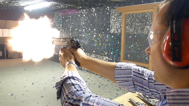 Фото №5 - Каково это — стрелять из ППШ, маузера, нагана, винтовки Мосина и еще девяти видов огнестрельного оружия