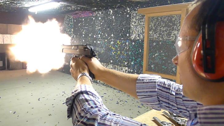 Фото №5 - Каково это— стрелять из ППШ, маузера, нагана, винтовки Мосина и еще девяти видов огнестрельного оружия