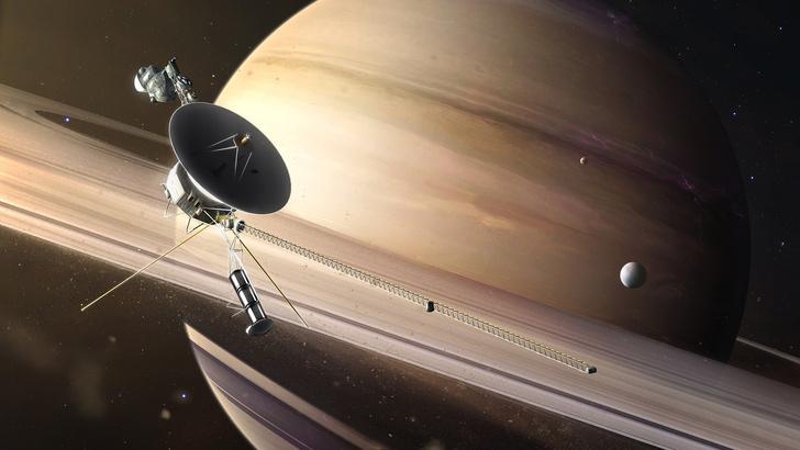 Фото №1 - «Вояджер-1»: 10 фактов космического масштаба