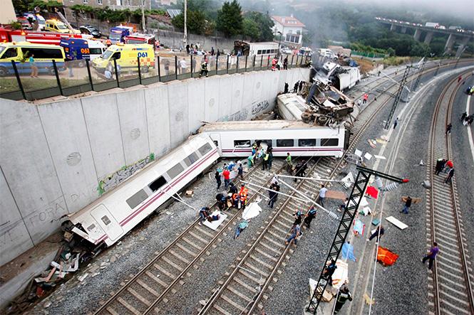 Фото №24 - Самые впечатляющие фото железнодорожных катастроф
