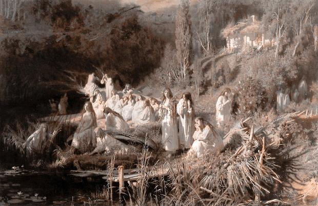 Фото №7 - За миллиард лет до 8 Марта: Какие праздники женщины придумали для себя и отмечали тайком от мужчин
