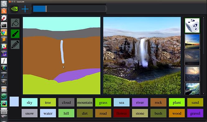 Фото №2 - Нейросеть Nvidia может превратить твои примитивные наброски в реалистичную картину