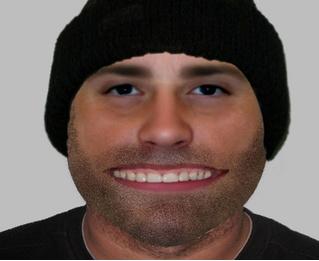 Полиция объявила в розыск грабителя с подозрительно широким ртом