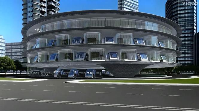 Фото №2 - Кибер-отель на колесах: в Америке придумали транспорт будущего