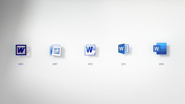 Фото №1 - Microsoft убрала листок бумаги из пиктограммы новой версии Word