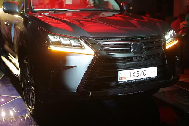 Фото №4 - Lexus LX в новой аранжировке