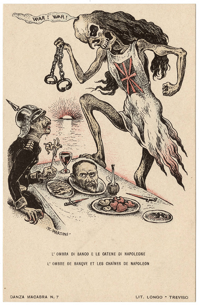 Фото №54 - Жутковатые карикатуры Первой мировой